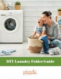 DIY laundry folder