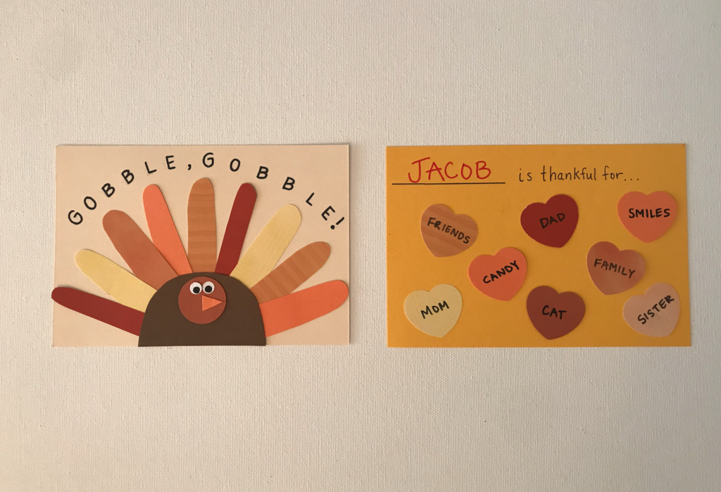DIY Thanksgiving Cards