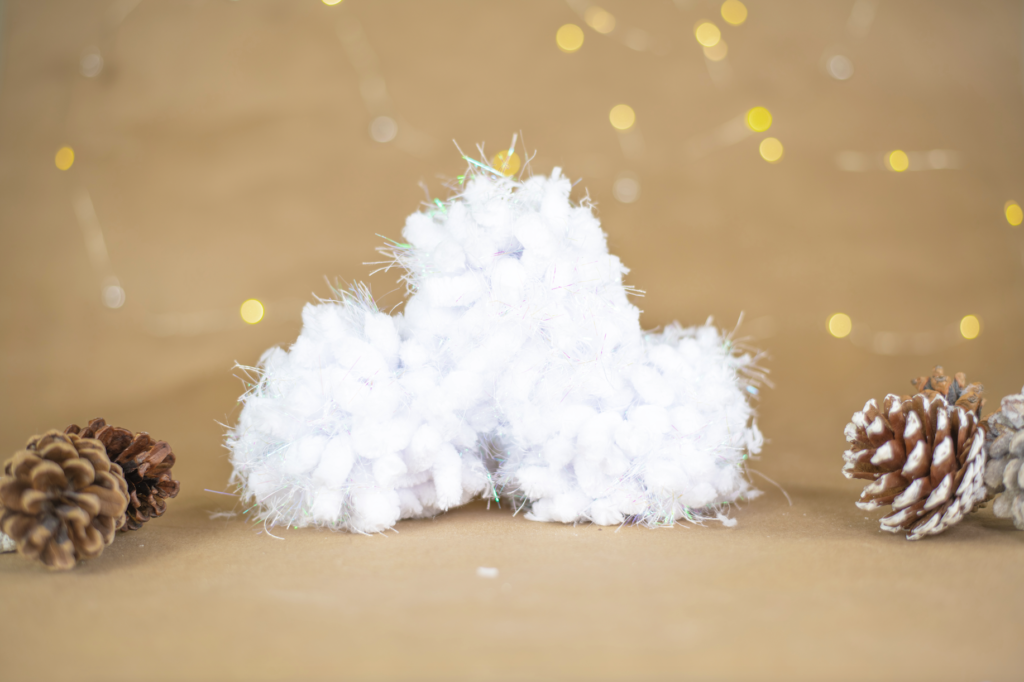 DIY Fake Snowballs